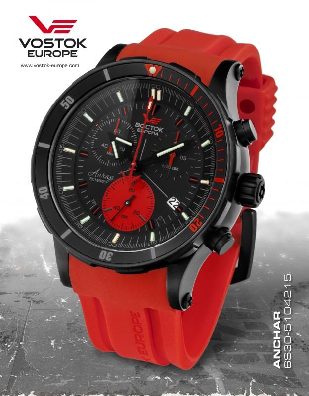 70c7382ec pánske hodinky Vostok-Europe ANCHAR Submarine chrono line 6S30/5104244