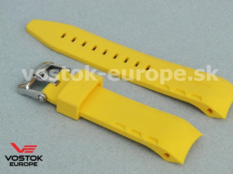 žltý silikónový remienok na model LUNOCHOD TM3603 6205206 e1ed22ecef