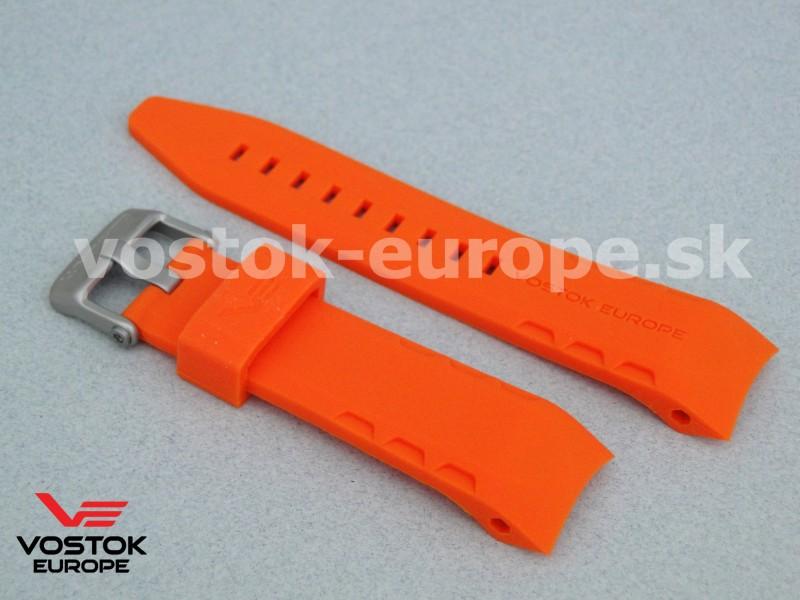 oranžový silikónový remienok na model LUNOCHOD TM3603 6205207 15f8ad64fd