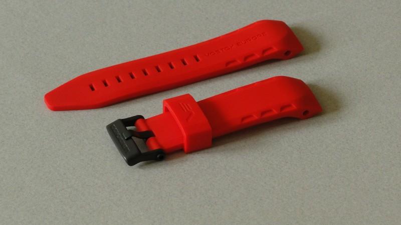 červený silikónový remienok na model LUNOCHOD NH35A 6204208 a TM3603 6204204 6a9cdce3e1