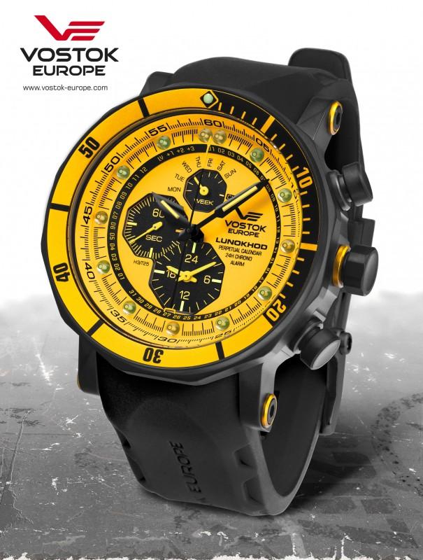 pánske hodinky Vostok-Europe LUNOCHOD-2 multifunctional line YM86-620C504 a39e2a17e8c
