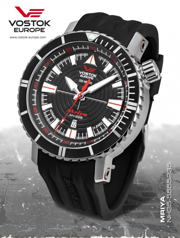 pánske hodinky Vostok-Europe AN-225 MRIJA automatic line NH35A 5555235 758160e7cf1