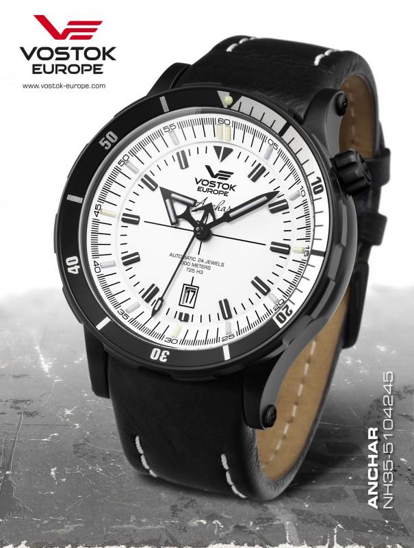 pánske hodinky Vostok-Europe ANCHAR Submarine automatic line NH35A 5104245 26c1ae3666a