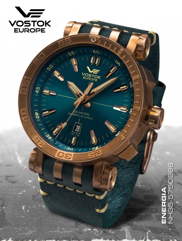 pánske hodinky Vostok-Europe ENERGIA Rocket Bronz line NH35 575O286 ... f033ccbd48