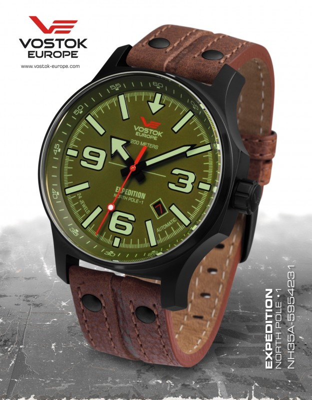 adae45f9d pánske hodinky Vostok - Europe EXPEDITION automatic line NH35A/5954231
