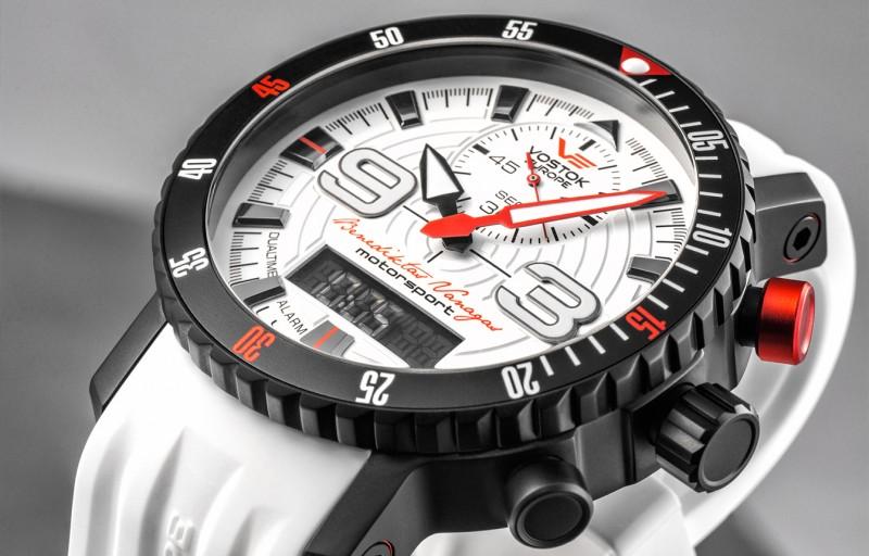 pánske hodinky Vostok-Europe Benediktas Vanagas white edition 9516 5554355 1286ee0364f