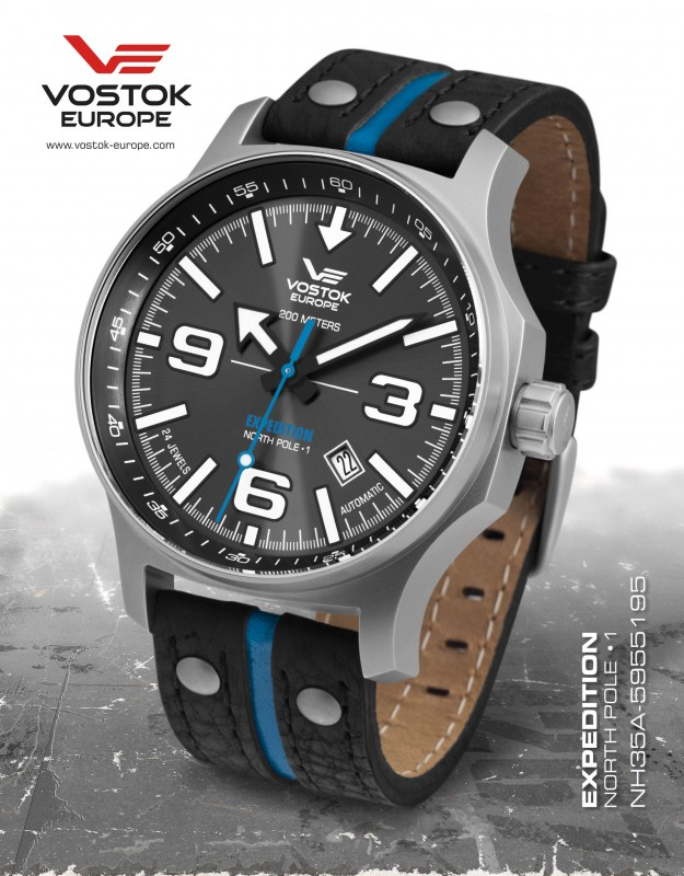 pánske hodinky Vostok - Europe  EXPEDITION automatic line NH35A/5955195